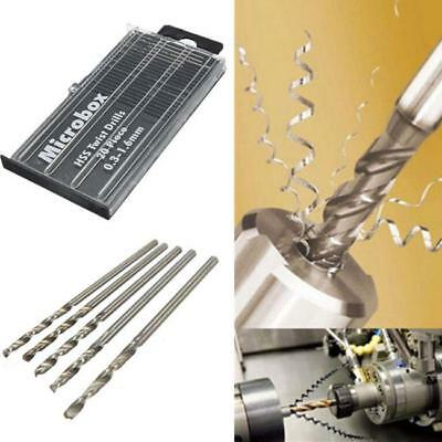 Micro HSS High Speed Twist Drill Bit Set For Craft Plastic Wood Metal 20pcs YU