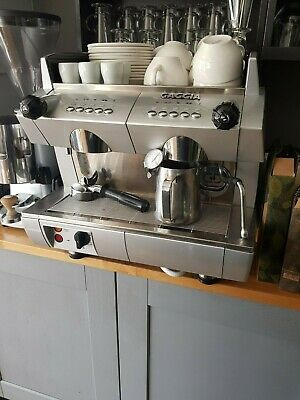 Gaggia GD Commercial 2 Group Coffee Machine SPARES OR REPAIRS CAN BE FIXED
