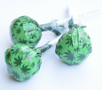 Lollipops Sweets with Hemp Flavour