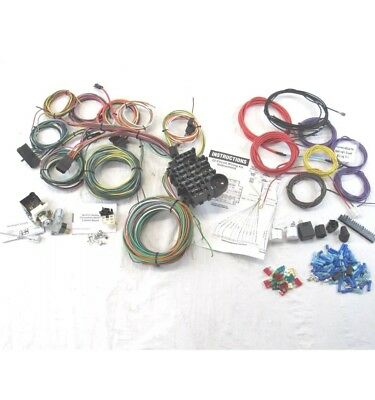 1930 - 59 chevy universal 22 Circuit Wiring Harness kit easy painless install