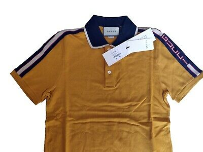 e73e9744743 MEN'S GUCCI NY Yankees Patch White Polo`s Shirt Worn Only One Time ...