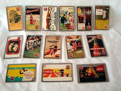 Lot of 14 Sprint Coca Cola Unused Phone Cards 1995 $2 cards expired 1996