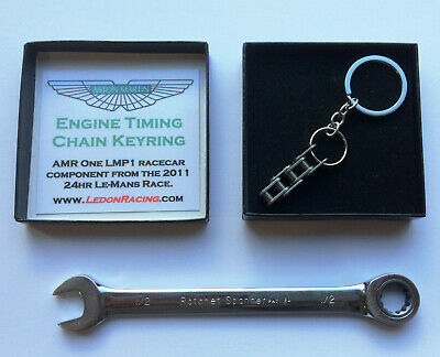 Aston Martin Racing AMR keyring keychain car guys mans motorsports Le-mans gift