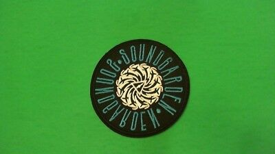 Soundgarden Iron On Patch! Chris Cornell Grunge Nirvana Alice In Chains