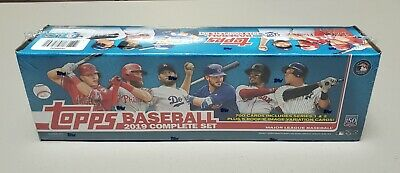 Topps 2019 Baseball Complete Set Retail Edition - FACTORY SEALED