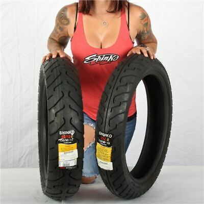 Tires Only Shinko SR244 Dual Sport Tire Set Compatible with Honda CR250//450//500R XR250//400//600//650R
