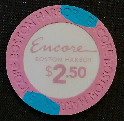 New $2.5 Encore Boston Harbor Casino Grand Opening Gaming Poker Chips Paulson