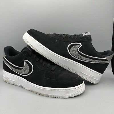 NIKE AIR FORCE 1 Low 07 LV8 Men's Shoes BlackCool Grey