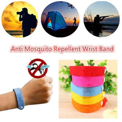 5/10PCS Natural Mosquito Repellent Bracelet Anti Bug Insect Bangle Protection
