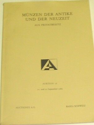 (Pgasteelers1)Munzen Der Antike Und Der Neuzeit Auction18 Sept 1989 ancient coin