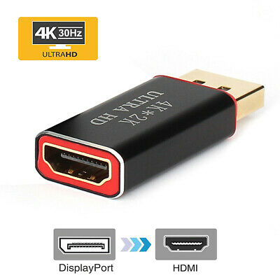 4K Display Port to HDMI Male Female Adapter Converter/Display DP to HDMI Cable