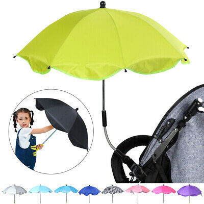 Baby Parasol Sun Umbrella Pushchair Pram Canopy Protect From Sun Rain Universal