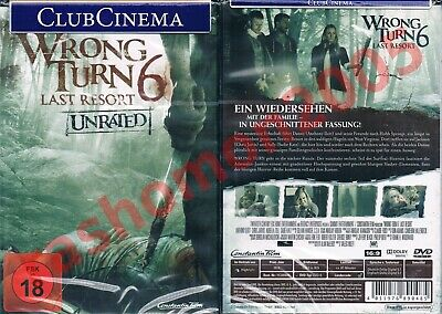 WRONG TURN 6: Last Resort - Unrated DVD - $4 17 | PicClick