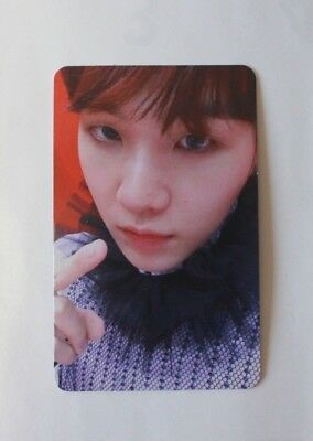 """BTS LOVE YOURSELF 結 'Answer' """"S"""" Ver. SUGA Official Photocard"""