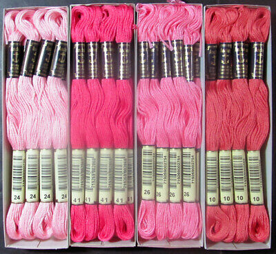 48x Needlepoint/Embroidery THREAD Anchor Cotton Floss-Mixed Lot-TX69