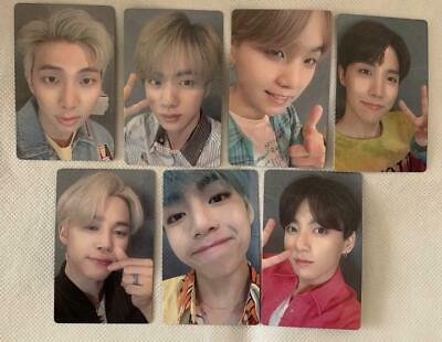 """BTS Japan Single """"Lights/Boy With Luv""""- Official PhotoCard : FC Ver.- Full Set 7"""