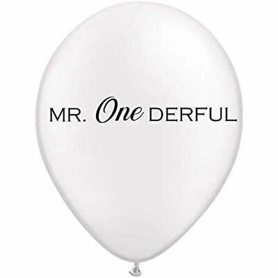 Mr. Onederful Balloons, First Birthday Him, Boy Party Decorations Little Man 1st