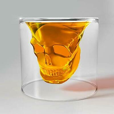 Transparent Crystal Skull Shot Glass Set (1 Pcs) Glasses