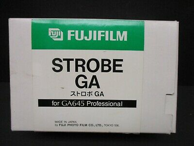 Fujifilm Strobe GA case for Fuji GA645 camera flash new in box brand new