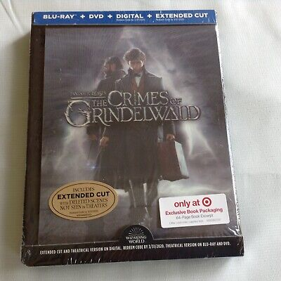 Fantastic Beasts The Crimes of Grindelwald Bluray+Digital+Extended NEW SEALED