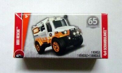 Orange MXB Rescue 4x4 2018 Matchbox Case G Power Grabs WG15