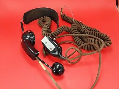 Vintage Bell System Western Electric Switchboard Operator Telephone Headset # 53