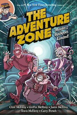The Adventure Zone Murder on the Rockport Limited! 9781250153715 | Brand New
