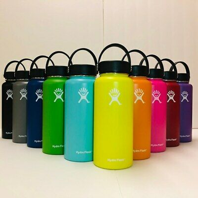 Hydro Flask Water Bottle   Stainless Steel &Vacuum Insulated 32 Oz -Flex Cap