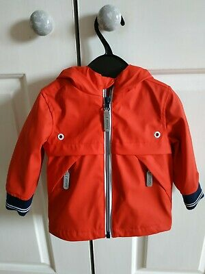 Baby Boys Red Summer Raincoat - 3-6m Brand New With Tags Jasper Conran RRP £26