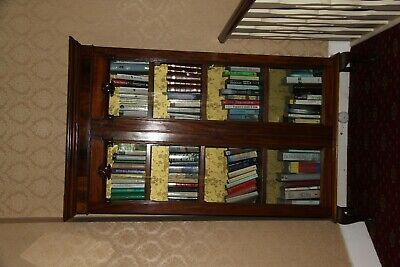 Victorian vintage display bookcase