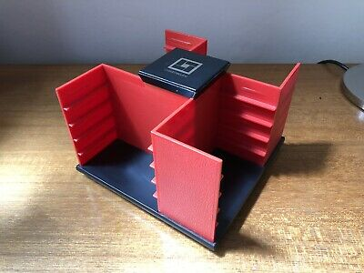 1980's Vintage Retro Cassette Tape Holder Carousel