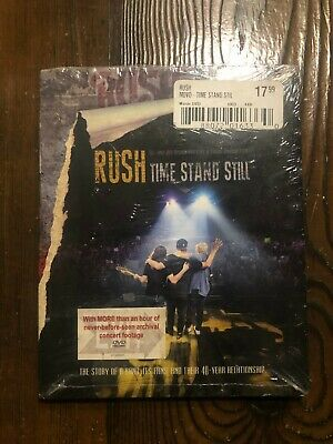 Rush-Time Stand Still New Sealed Dvd Prog Hard Rock