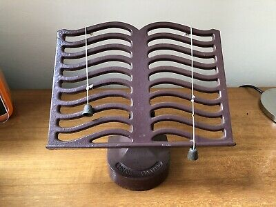 Victor Cast Iron Enamelled Recipe Cook Book Stand Robert Welch Design.