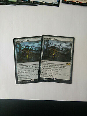 Grafdigger's Cage x2 - M20 - MTG Magic The Gathering Core 2020 - IN HAND!