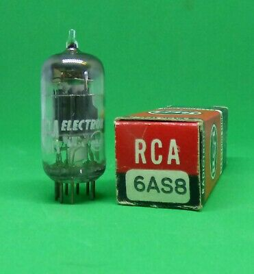 RCA 6AS8  Radio Tube Tested  Made in USA