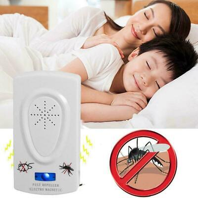 Ultrasonic Electronic Anti Mosquito Insect Pest Bug Control Repeller Killer Q4M4