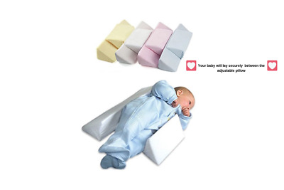 Baby Side Sleeping Pillow for Newborns and Infants Anti-Roll Sleep and Posture