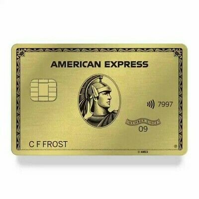Amex American Express Metal Gold card Referral 40k points+ extra $50 from me