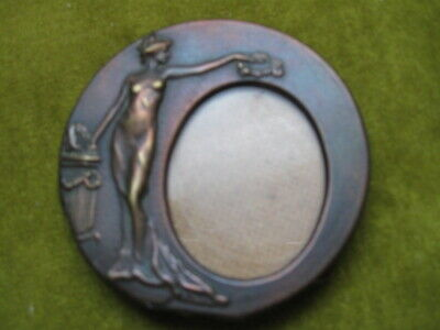 Art Deco picture frame small, brass