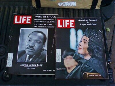 LIFE MAGAZINE APRIL 12 1968 Martin Luther King Murdered