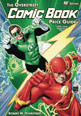 OVERSTREET 2018 2019 COMIC BOOK PRICE GUIDE #48 HARDCOVER Flash Green Lantern HC