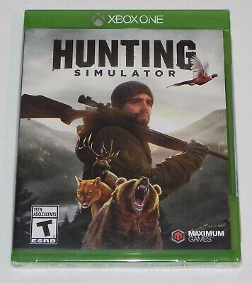 Xbox One Hunting Simulator Brand New Factory Sealed