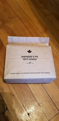 Canadian IMP MRE Meals Ready-To-Eat Shepherds Pie 2017