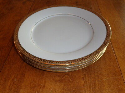 Royal Gallery Gold Buffet Dinner Plates Lot Of 4