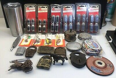 Junk Drawer Lot ~Over 9 Pounds Of Stuff~ Some New, Some Old.