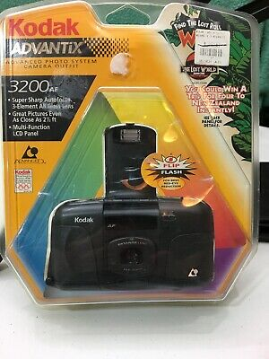 New In Box Kodak Advantix Photo System 3200 AF Camera Outfit Kit with Film