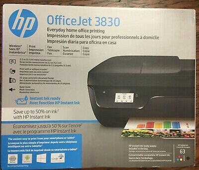 HP OFFICEJET 3830 All-in-One Touchscreen Wireless Printer