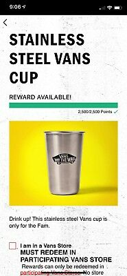VANS FAMILY STAINLESS STEEL CUP 16oz