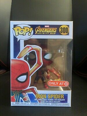 Funko Pop Iron Spider Target Exclusive Marvel Infinity War Avengers 300 - Free