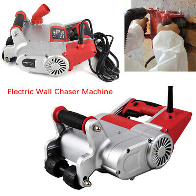 1.1kw Cutting Electric Wall Chaser Machine Notcher Set Universal for Brick Wall